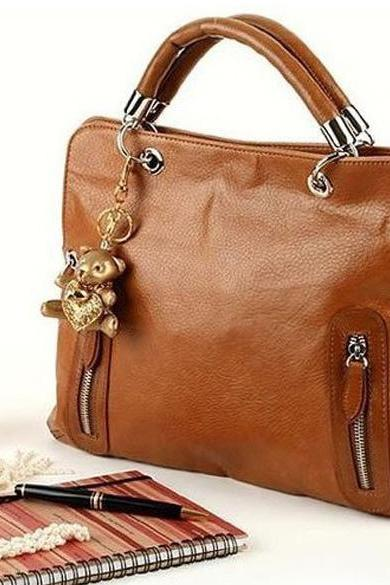 Women PU Leather Handbag Satchel Shoulder Bag Tote Messenger Hobo Bags Purse