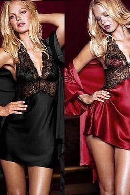 Sexy Lace Sleepwear 2PC